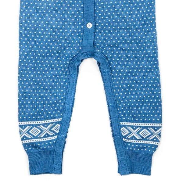 Marius bambus kjole blå Minirein barneklær, leker og