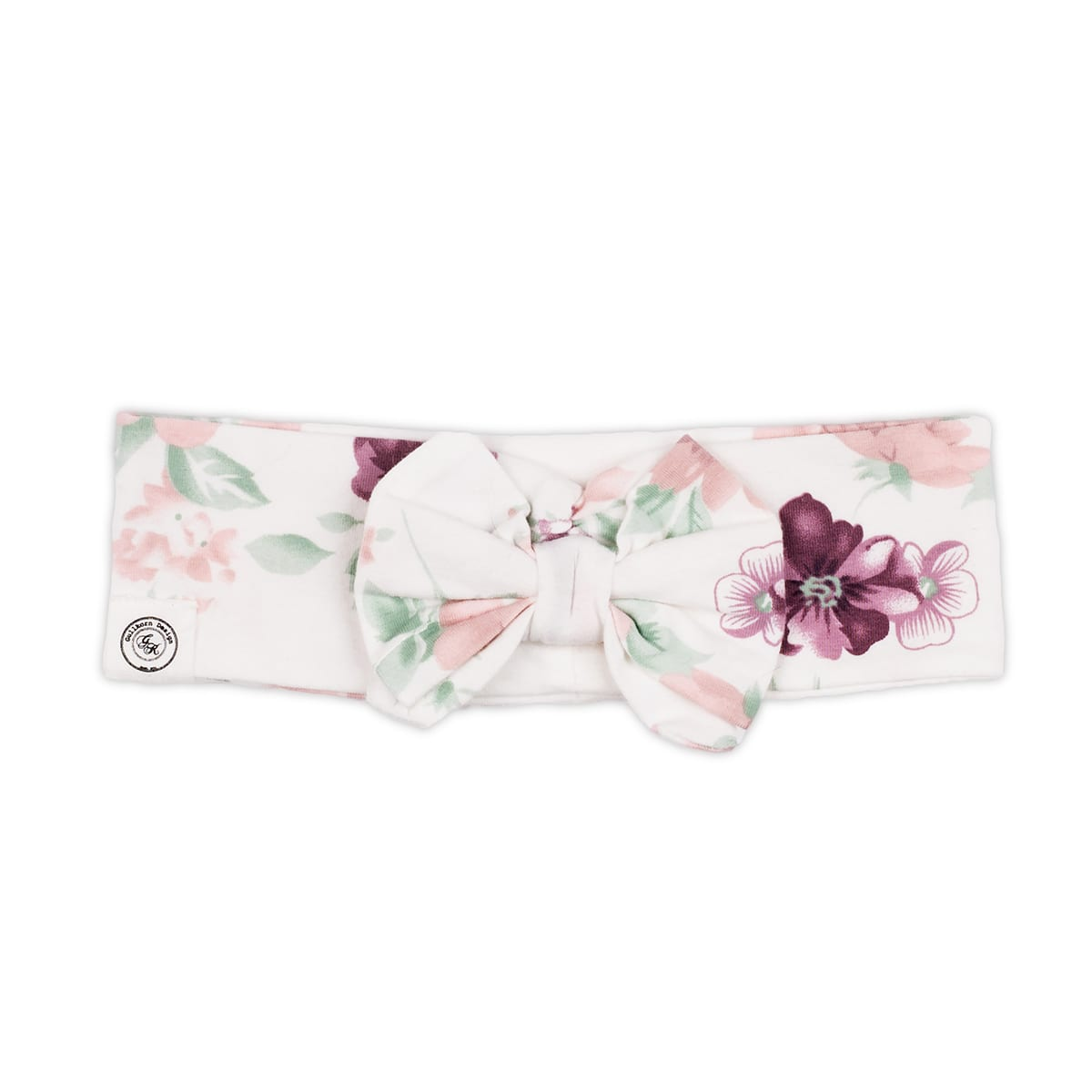 280714a5 Gullkorn Design HERMINE hårbånd - blomster print - Minirein ...