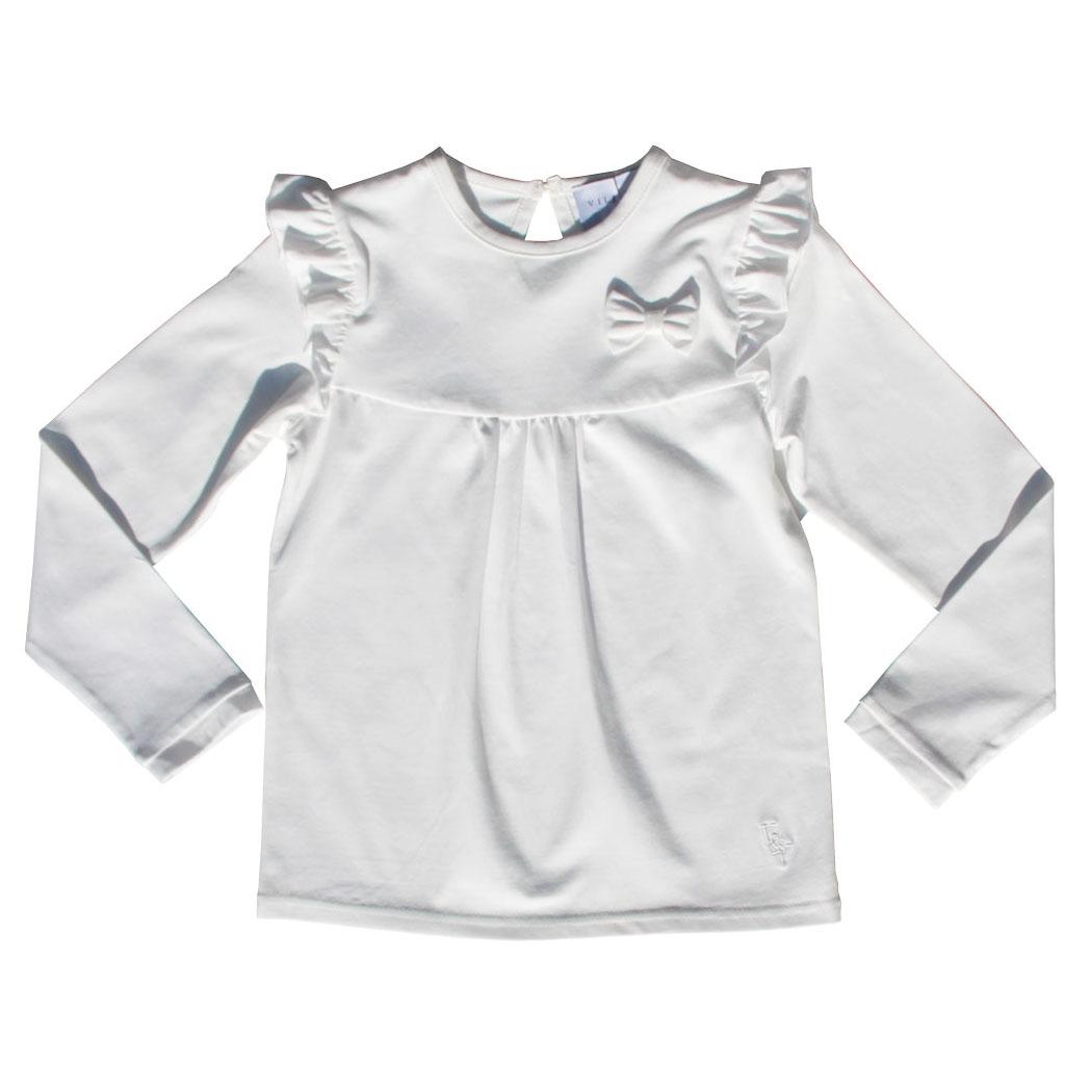 Vilje & Ve DIS genser hvit Minirein barneklær, leker